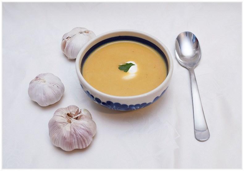 Zupa czosnkowa - przepis