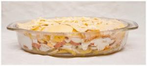 Zapiekanka z ziemniakow i jajek